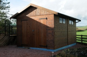 17 x 11 Timber Garage, Hesket Timber Buildings & Joinery