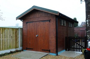 15' x 9' Timber shed/workshop by Hesket Timber Buildings & Joinery