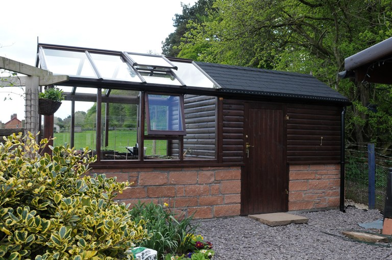16 x 6 greenhouseshed combination - Garden Sheds Greenhouses Combined
