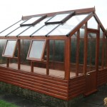 10 x 8 Timber Greenhouse by Hesket Timber Buildings & Joinery