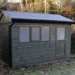12 x 8 Garden Office by Hesket Timber Buildings & Joinery
