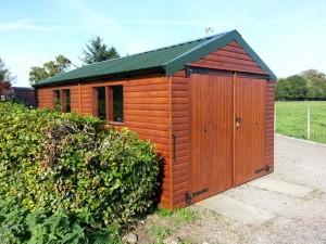 16 x 9 Workshop/Garage by Hesket Timber Buildings & Joinery