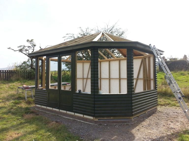 16 X 12 Eight Sided Garden Room Keswick Cumbria