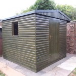 8' x 8' Timber Garden Shed by Hesket Timber Buildings & Joinery