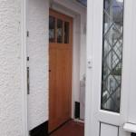 Douglas Fir Door by Hesket Timber Buildings & Joinery